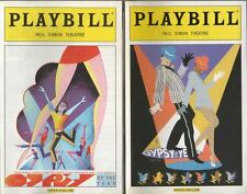 "TWO   ""Gypsy Of The Year""   Playbills  2004 & 2005  Neil Simon Theatre  Broadway"