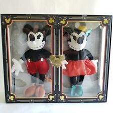 Disney Mickey Minnie Mouse Plush Set 90th Anniversary Limited Edition Authentic