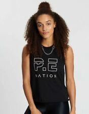 NWT Pe Nation Ladies Active Sports Gym Tank Top Singlet T Back Workout Vest SZ L