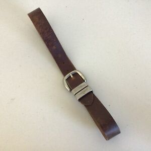 R. M. Williams Brown Real Cow Hide Leather Belt-Size 32/81 Made in Australia#661