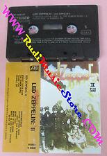MC LED ZEPPELIN Led zeppelin II 1975 italy ATLANTIC W 440037 no cd lp dvd vhs