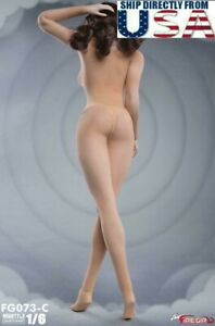 "1/6 Seamless Bodysuit Underwear Set C For 12"" PHICEN TBLeague Hot Toys Figure"