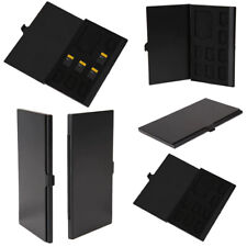Speicherkarten Aufbewahrung Box für 8 microSD und 1 SD Mermory Card Alu Case