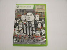 Sleeping Dogs (Microsoft Xbox 360, 2012) Very Good Cond No Manual Free Ship
