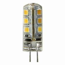 Dimmable G4 Silicone Crystal Corn Bulb SpotLight White Lamp 2835 24LED DC12V