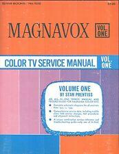 Magnavox Color TV Service Manual : Vols. 1 - 3, 1970-1975 / Stan Prentiss.