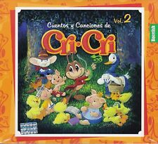 Cri Cri Cuentos y Canciones Vol 2 Caja de Carton New Nuevo Sealed