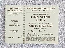 1970 to 1994 * TICKETS  13 DIFF FA CUP SEMI FINAL