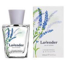 Crabtree & Evelyn Lavender perfume EDT 100ml Rare
