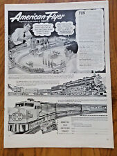 1951 American Flyer Electric Trains by Erector Ad