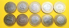 Republic India-Rs 10 commemorative coins- Rare collection of 11 coins set-