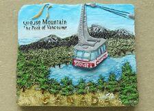 Canada The Peak of Vancouver Grouse Mountain 3D Fridge Magnet Travel Souvenir
