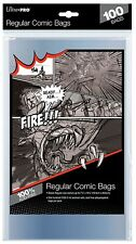 Ultra Pro 100 Count Regular Size Comic Storage Bags