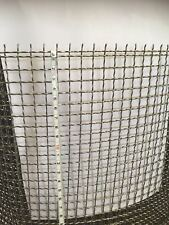 304 Stainless steel Crimped wire mesh 1.2m width 2mesh (12.5mm ) ,$50/mtrs