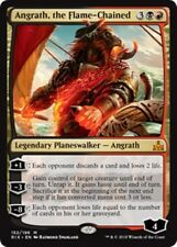 ANGRATH, THE FLAME-CHAINED Rivals of Ixalan MTG Gold Planeswalker Mythic Rare