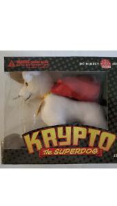 Krypto the Super Dog plush soft toy DC Direct 2001 In Unopened Original Pkg NEW