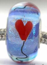 Higher Love Heart Balloons Mandy Ramsdell european charm bead lampwork glass
