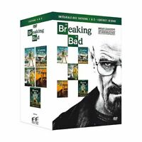 COFFRET SERIE DVD NEUF : BREAKING BAD - SAISON 1 A 5 - WALTER WHITE EDITION