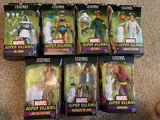 Marvel Legends Super Villains Wave 1 Set of 7 Figures - XEMNU BAF - IN STOCK