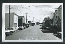 WA Coupeville RPPC c.1960 STREET Cars STORES Rainier Brewery Truck Ellis No.3466