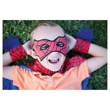 Pretenz Spider Cape Mask Hand Set 3-5 Years Children Acessory Fantasy Dress