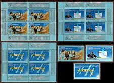 Briefmarken mit Motiven aus der DDR