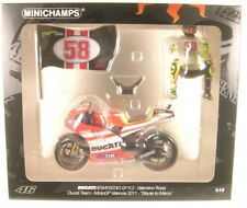 1 12 Minichamps Ducati Desmosedici moto GP Rossi Tribute to marco
