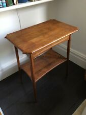 Original Antique Edwardian Art Nouveau Oak Occasional Table Side Table