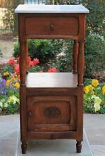 french country antique nightstands