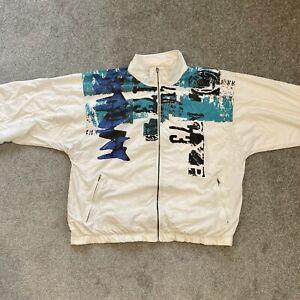 Vintage Retro Reebok Jacket Size Large 90s