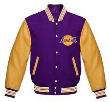 Los Angeles Lakers NBA varsity Jacket small medium  Large XL 2XL 3XL