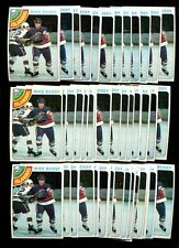 1978 TOPPS HOCKEY #115 MIKE BOSSY LOT OF 42 MINT B58794
