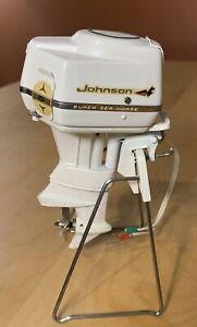 Vintage 1959 K&O Johnson Sea Horse Toy Outboard Motor Model Boat