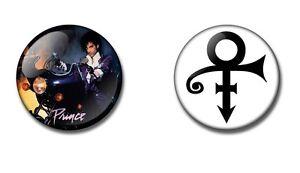 PRINCE 25 or 38mm button badge / fridge magnet. Purple Rain 80's vintage retro