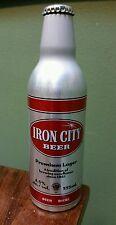 Iron City Biere Export Canada Beer Aluminum Bottle 12oz Pittsburgh Pennsylvania