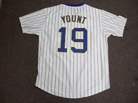 ROBIN YOUNT Unsigned Custom Milwaukee White Sewn New Baseball Jersey Sizes S-3XL