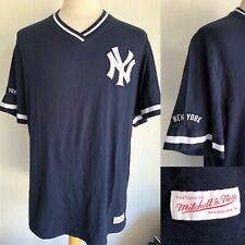 NEW YORK YANKEES Cooperstown Collection Mitchell & Ness V-Neck Jersey Shirt XXL
