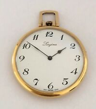 Vintage Gold Plated Longines Pocket Watch