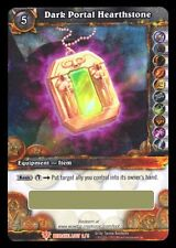 WORLD OF WARCRAFT WOW TCG : DARK PORTAL HEARTHSTONE LOOT CARD