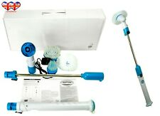 Spin Electric Brush Mop,Cordless,Rechargeable,Extendable,3Replaceabl Brush Head