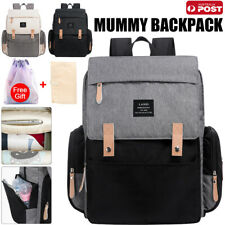 2020 GENUINE LAND Multifunctional Babys Diaper Backpack Changing Bag Nappy Mummy