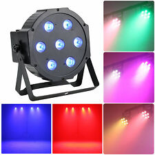 AU STOCK 1PCS 70W(7x10W) PAR64 RGBW LED PAR Can Stage Lighting for X'mas Party