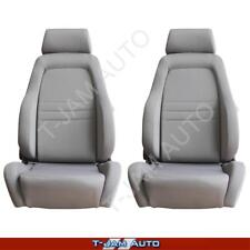 Explorer 4x4 4WD Bucket Seat Pair 2 x Grey Cloth ADR Approved Landcruiser
