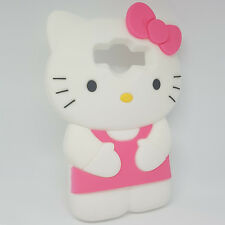 Funda Carcasa Silicona 3D Hello Kitty Samsung Galaxy Core Prime G360