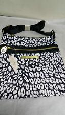 VS Victoria's Secret Messenger/Sling/Cross Body Bag - White Leopard