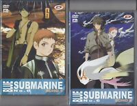 2 Dvd BLUE SUBMARINE NO.6 ECHO 1 + ECHO 2 serie episodi completa 1998