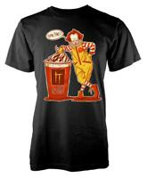 IT Clown Pennywise Mcdonalds Extra Floats Mashup Horror Scary Adult T Shirt