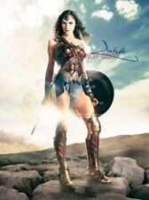 "Gal Gadot Wonder Woman Reprint SIGNED 12x18"" Poster #1 RP Justice League"