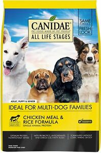 CANIDAE All Life Stages for Dogs (Chicken Meal & Rice] (5 lb)
