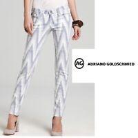 AG Adriano Goldschmied Womens Stilt Cigarette Leg Jeans Size 25R Aztec Print